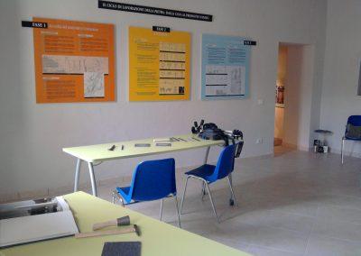 La sala didattica