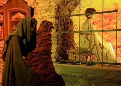 Museo di Triora - La ricostruzione del processo alle streghe