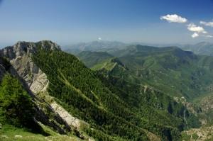 Panoramica sulle Alpi Liguri