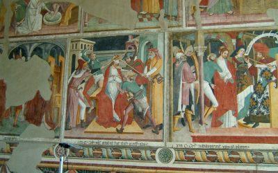 25 aprile – Affreschi S. Bernardo di Pigna