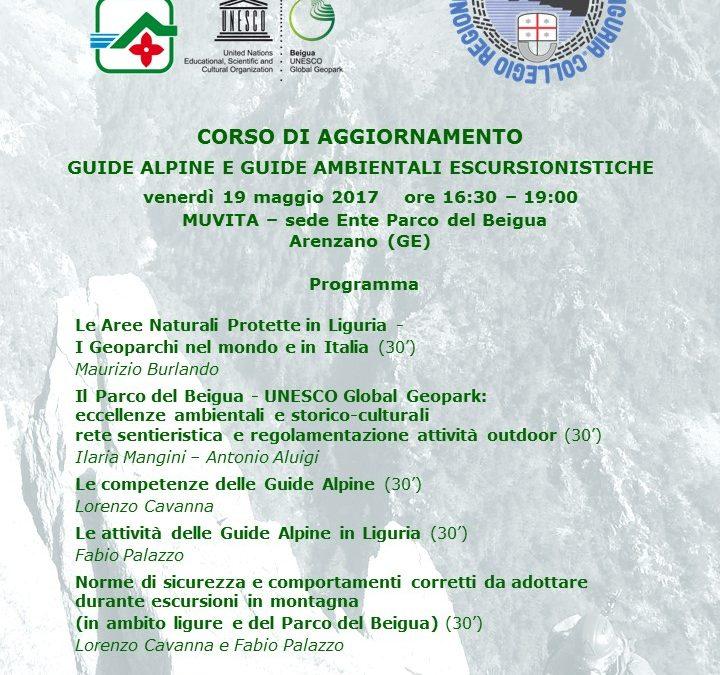 Dal Parco Beigua – Corso Aggiornamento Guide Alpine/Escursionistiche
