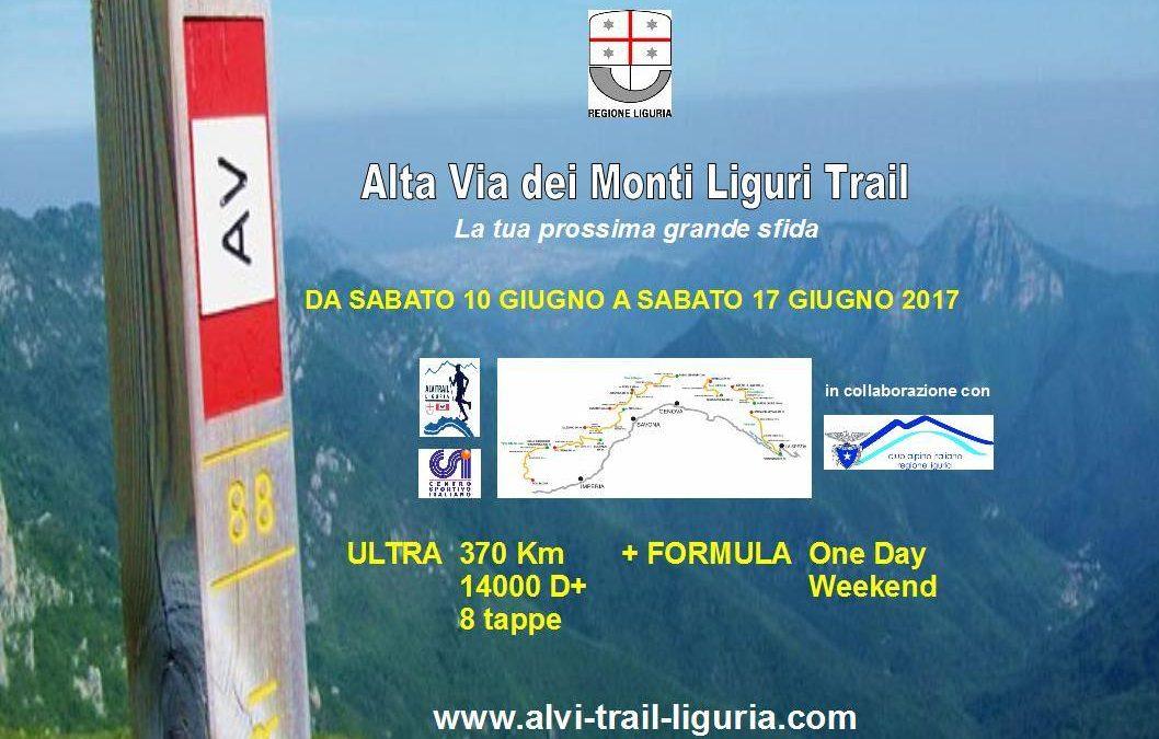 17 giugno – ALVI Trail Liguria