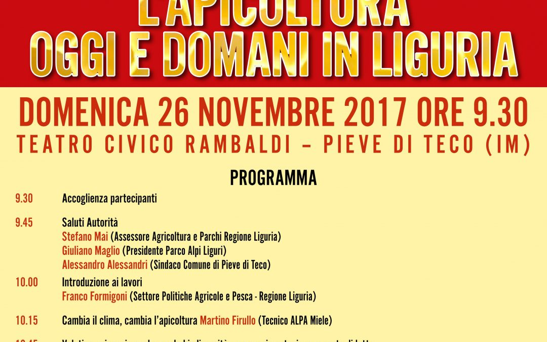 Anteprima – Concorso Mieli dei Parchi della Liguria