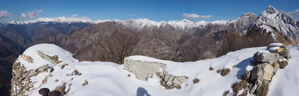 17 febbraio – Il Monte Lega e il Vallo Alpino