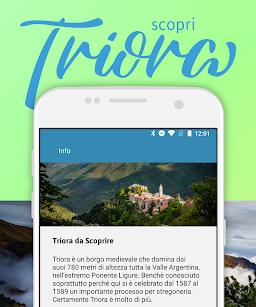 """""""Triora da Scoprire"""" per app e web"""