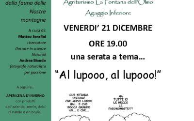 "Altrove sulle Alpi Liguri – ""Al lupooo, al lupooo!"""