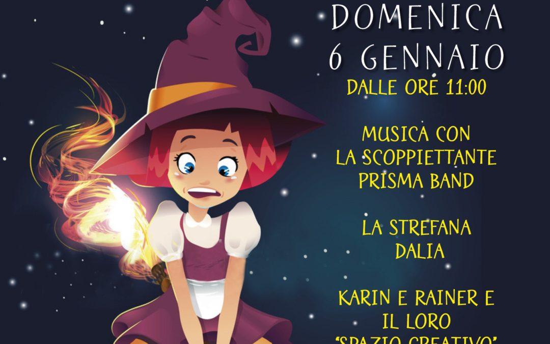 """6 gennaio – Musica e giochi con la """"Strefana"""" a Triora"""