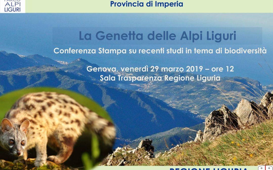 """Conferenza Stampa """"La Genetta delle Alpi Liguri"""""""