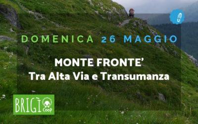 Il Monte Fronté tra Alta Via e Transumanza