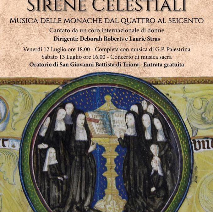 12-13 luglio – Sirene celestiali a Triora