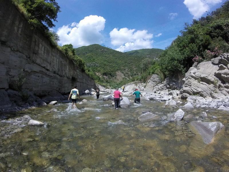 14 luglio – Streambed trekking in Valle Argentina
