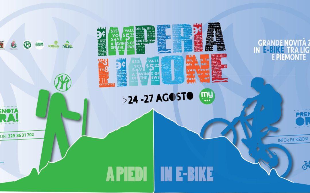 24-27 agosto – Imperia-Limone a piedi e in e-bike