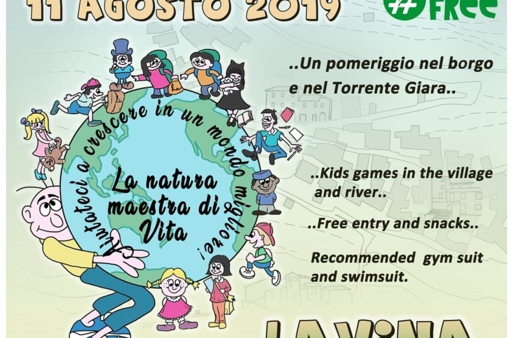 11 agosto – Festa dei Bambini a Lavina