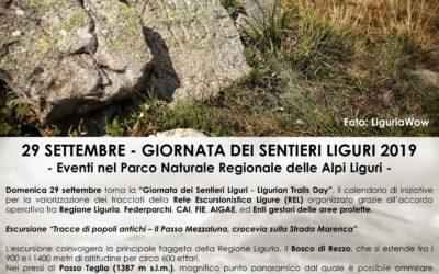 """Giornata dei Sentieri Liguri 2019 – Laboratorio sensoriale """"Il Sesto Senso delle Alpi"""""""