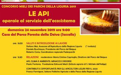 In evidenza – Concorso Mieli dei Parchi della Liguria convegno finale