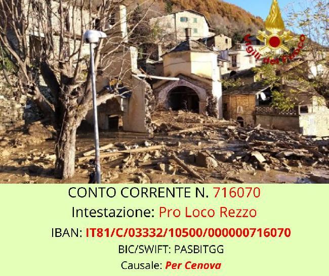 4 gennaio – CantiAmo per Cènova a Cosio d'Arroscia