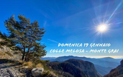 19 gennaio – Escursione da Colle Melosa al Monte Grai