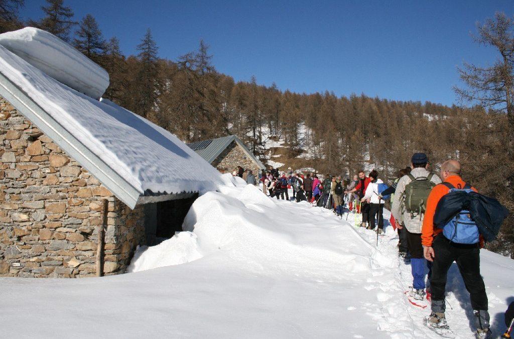 16 febbraio – Il silenzio della neve nel Bosco delle Navette
