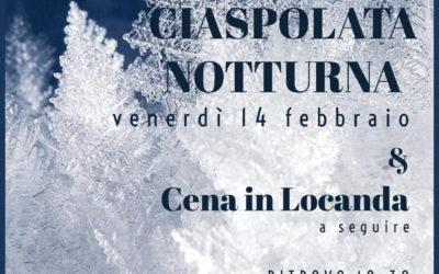14 febbraio – Ciaspolata notturna nel Bosco delle Navette