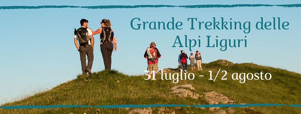 31 luglio-2 agosto – Grande Trekking delle Alpi Liguri