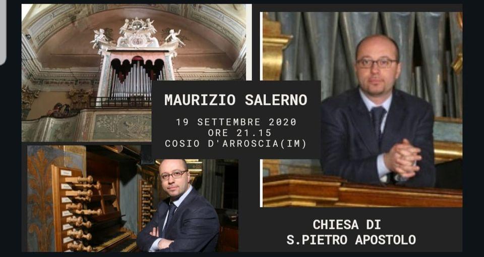 19 settembre – Concerto d'organo a Cosio d'Arroscia