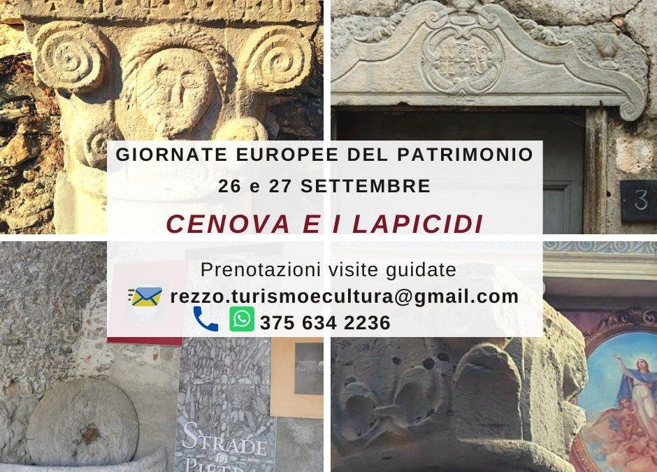 26-27 settembre – Giornate Europee del Patrimonio a Cènova (Rezzo)