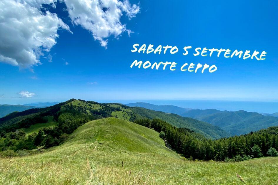 5 settembre – Il Monte Ceppo con Ponente Experience