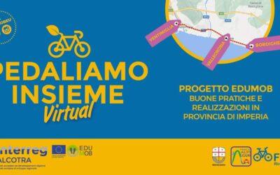 """28 marzo – Evento Facebook """"Pedaliamo insieme virtual"""" con Regione Liguria e FIAB"""