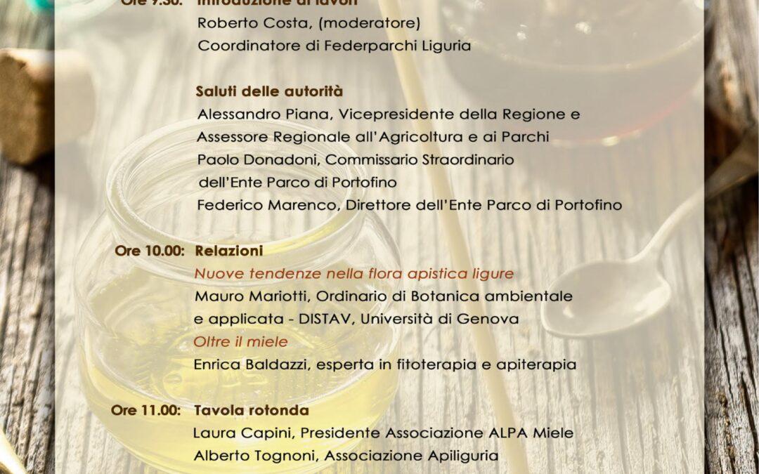 """21 marzo – Convegno online e premiazione """"Concorso Mieli dei Parchi della Liguria edizione 2020"""""""