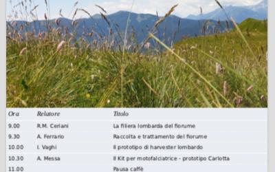 30 marzo – Seminario online sulla raccolta del fiorume (Progetto BIODIVALP GEBIODIV)