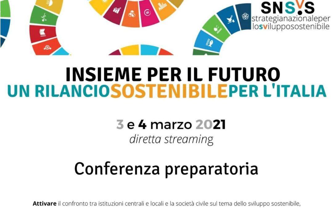 3-4 marzo – Conferenza Sviluppo Sostenibile in diretta streaming