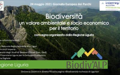 """24 maggio – Convegno online """"Biodiversità, un valore ambientale e socio-economico per il territorio"""""""