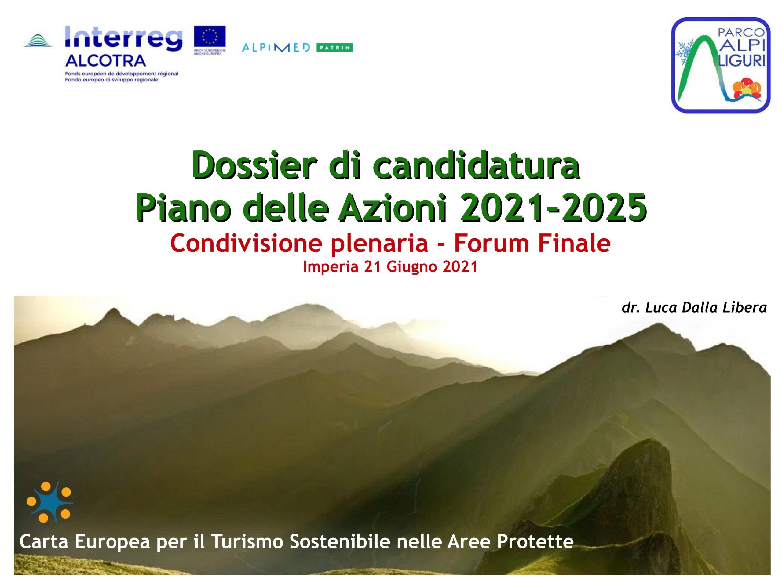 Il Parco delle Alpi Liguri verso la Carta Europea del Turismo Sostenibile (CETS) – Firmato il documento finale della Strategia 2021-2025