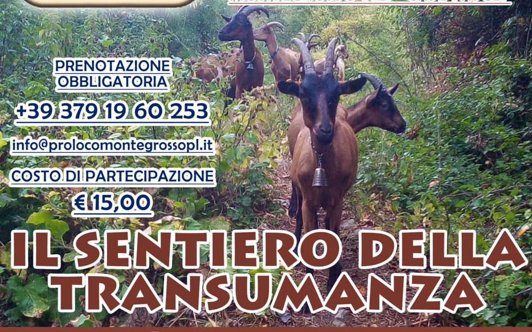 25 settembre – Il sentiero della Transumanza a Montegrosso Pian Latte